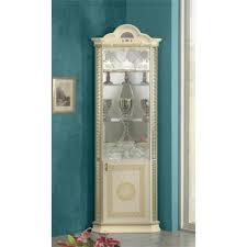 classic italian wall units display cabinets