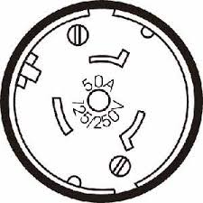 honda generator locking plug 50a 125 250v 3 pole 4 wire style h honda generator outlet 50 amp