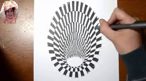 draw how to draw a hole 3d painting and drawing 2 by r i a 3d painting how to draw a hole 3d