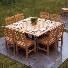 kingsley bate mand teak 60 square dining table