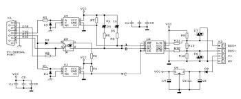 rs232 to rs485 converter and adapter wiki rs232 rs485 converter circuit