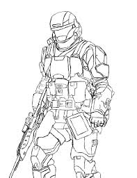 fabulous halo reach colorings with and master chief printable simple coloring pages
