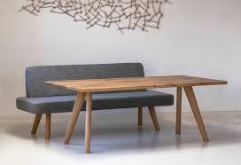 Tisch Altholz Sitzbank Gepolstert Lignum Arts