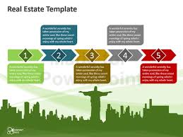 Real Estate Marketing Plan Magnificent Real Estate Editable PowerPoint Template