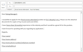 Sample Email To Apply For A Job Sample Email Job Application Passingdemanded Cf