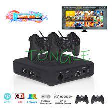 2020 Mới Retro Mni Video TV Máy Chơi Game Pandora Saga 3000 Trò Chơi  Gamebox 2 USB Tay Cầm Chơi Game Điện Tử Điều Khiển Bộ Cửa Sổ/android/XBox/ PS3 Coin Operated Games