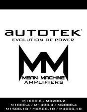 autotek m2500 1d manuals autotek m2500 1d user manual