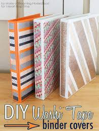 diy school supplies diy binder covers easy crafts and do it yourself ideas for