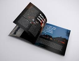 Ready to present your works. Free Square Brochure Mockup Psd Good Mockups