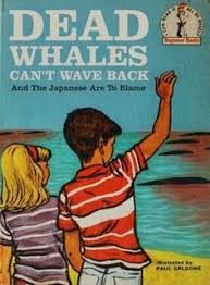 dead whales can t wave back bob staake offers satire humour and a visual parody of clic children s books from the through the in his series led bad