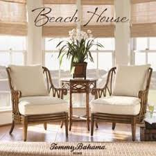 tropical style furniture. Delighful Style Beach House Round Coconut Grove Dining Table With Bent Rattan Accents U0026  Expansion Leaf By Tommy Bahama Home To Tropical Style Furniture