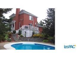 magnifique maison cote avec garage et piscine creusée a 8 min de ville st georges usagé à vendre à st philibert le immobilier st philibert