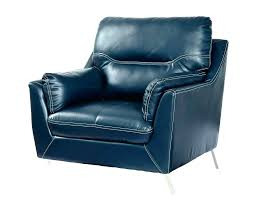 blue leather recliner club chair chairs navy oversized dark re y boy blue leather recliner