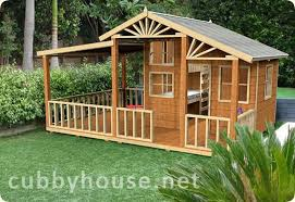 wooden cubby house plans pdf woodworking view larger