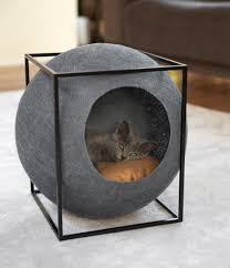 stylish cat furniture. Feline Furniture Brand Meyou Has Launched Its First Collection Of Designer Cat Beds Stylish