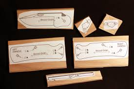 Wood Knife Kit Template Klecker Knives