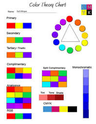Color Theory Chart Color Theory Chart Tdws Website Of Wonder