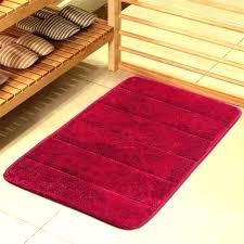 red bathroom rugs rug