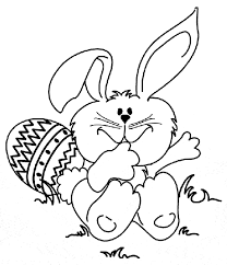 easter bunny colouring pages to print. Wonderful Bunny Easter Bunny Bunny Coloring Page For Colouring Pages To Print O