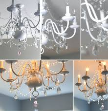 do you add crystals to a chandelier brass adding crystals to chandelier add with before after for little girl s room sugar and on