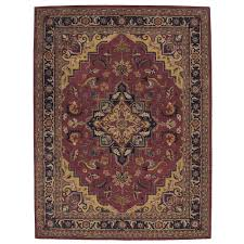 nourison india house rust 8 ft x 11 ft area rug