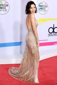 AMAs 2017: Jenna Dewan Tatum Wears Plunging Sheer Dress with High ...