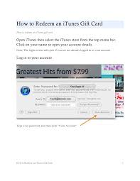 gift card formats workshop how to redeem an itunes gift card pdf