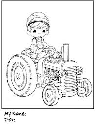 Small Picture Boys Coloring Pages Precious Moments Tractor SearchBulldogcom