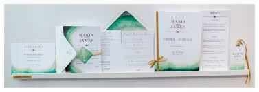 plume design wedding stationery 2018 wedding trends