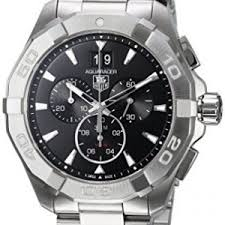 tag watches on tag watches for men women tag heuer aquaracer 300m chronograph 43mm black mens