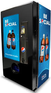 Source Code For Vending Machine In C Interesting Pepsi's New Social Vending Machine Lets You Reach Out And Refresh