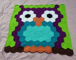 Owl Afghan Crochet Pattern Free Cool Decoration