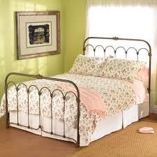 Bed Frames Wallpaper:Hi-Res Cheap King Platform Bed Metal Headboard And  Footboard Metal