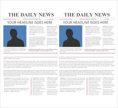 Newspaper App Template 16 Newspaper Templates Free Sample Example Format Free