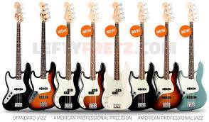 left handed fender guitars basses 2017 ultimate guide left handed fender bass guitars 2017