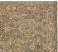 thyme persian style rug pottery barn throughout area rugs prepare 19