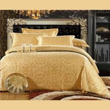 metallic gold bedding color