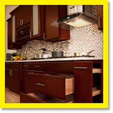 All Solid Wood Kitchen Cabinets Villa Cherry 10x10 Rta Ebay Kitchen