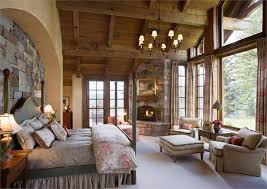 country master bedroom ideas. Interesting Bedroom Endearing French Country Master Bedroom Ideas Rustic Retreat With  Fireplace And A Lot Of Windows A