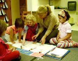 Kathryn Rhodes and primary (preschool) students at Mountaineer Montessori  School. | Montessori school, Preschool, School