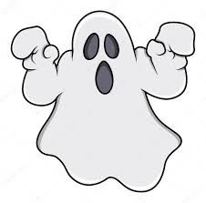Fant Me Essayant D Effrayer Illustration Vectorielle Halloween