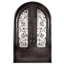 exterior wood doors with gl panels home depot front steel rustic mahogany exterior wood double