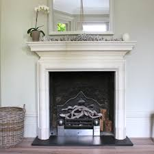 painted white brick fireplaceGood Looking Remodeling Vintage Painted Fireplace Mantel As Well