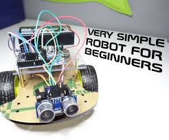 Simple Design Engineering Projects Very Simple Robot For Beginners Robotics Projects Diy