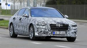 Motor Design Class 2021 Mercedes S Class Shows Its Grille In New Spy Shots