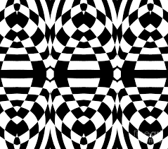 Abstract Art Black And White Patterns Op Art Black White Geometric Abstract Print No 262