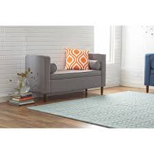 Storage Benches For Living Room Mercury Row Rimo Fabric Storage Bedroom Bench Reviews Wayfair