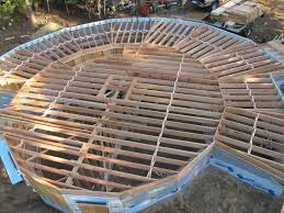 round house plans. The Basement Begins To Take Shape Round House Plans