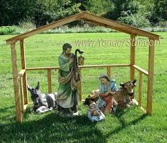 wood outdoor nativity scene outdoor nativity outdoor nativity set with wooden manger outdoor nativity figures large outdoor nativity