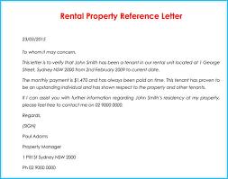 Babysitter Reference Letter Rental Reference Letter 9 Sample Letters Formats And